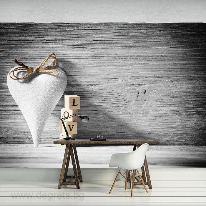 Фототапет Любов Астракция 3D