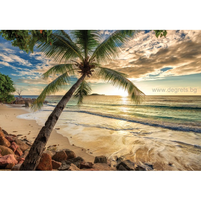 Фототапет Залез в Бахами XL