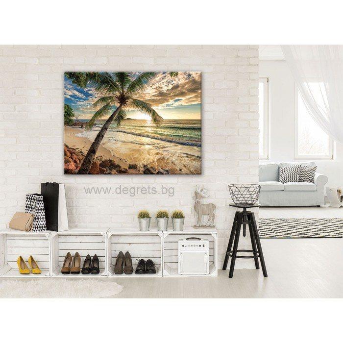Картина Канава Залез в Бахами