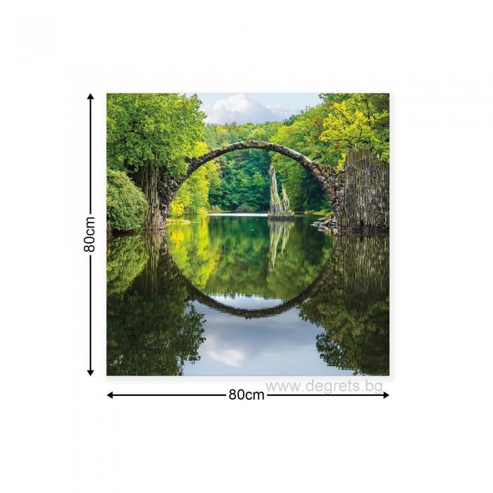 Картина Канава Планински пейзаж 1