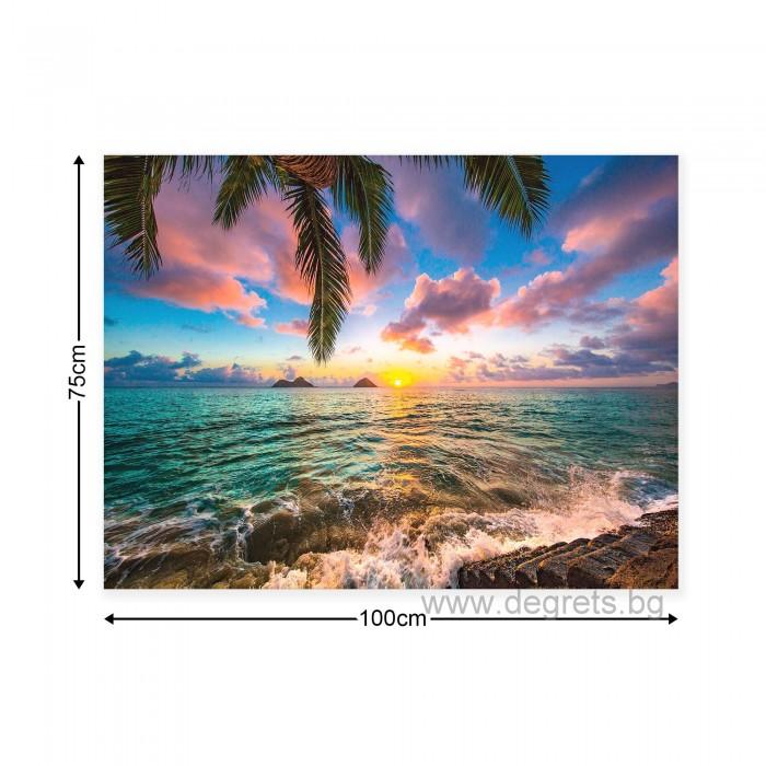 Картина Канава Поглед към морето L