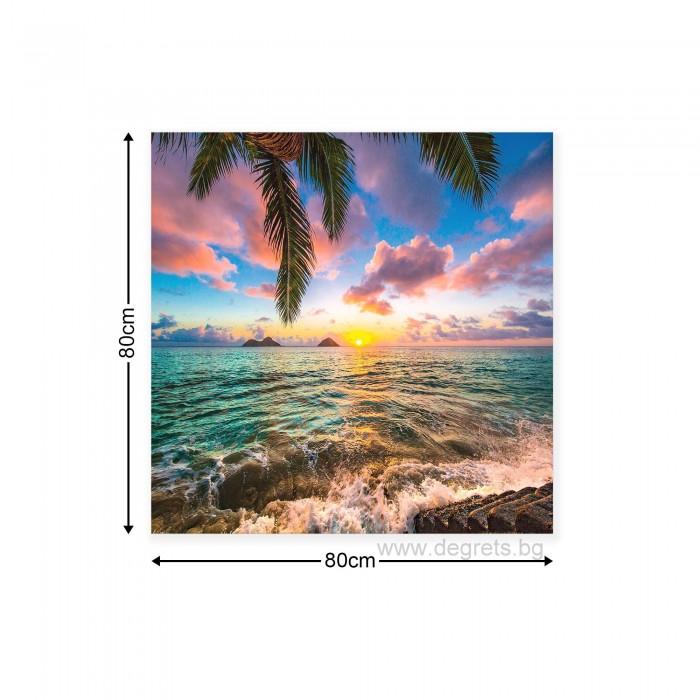 Картина Канава Поглед към морето М