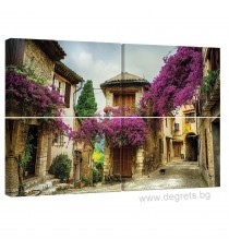 Картина Канава Старият град Сет 4 части