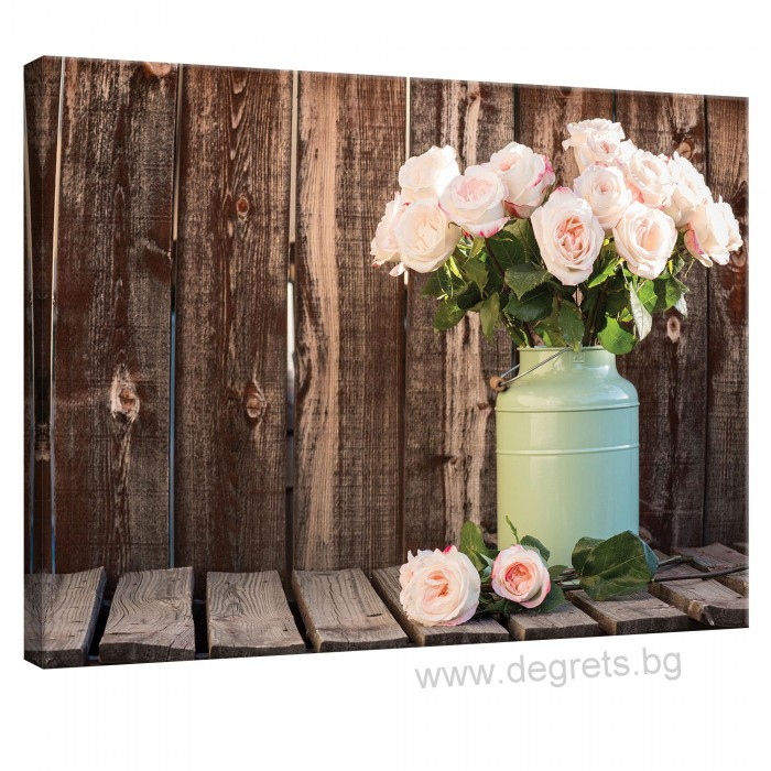 Картина Канава Рози декор L