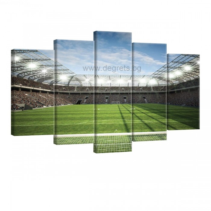 Картина Канава Стадион 2 Сет 5 части