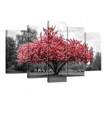 Картина Канава Розов цвят Сет 5 части