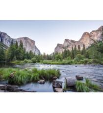 Фототапет Река в планината