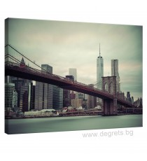 Картина Канава Бруклински мост 1 L