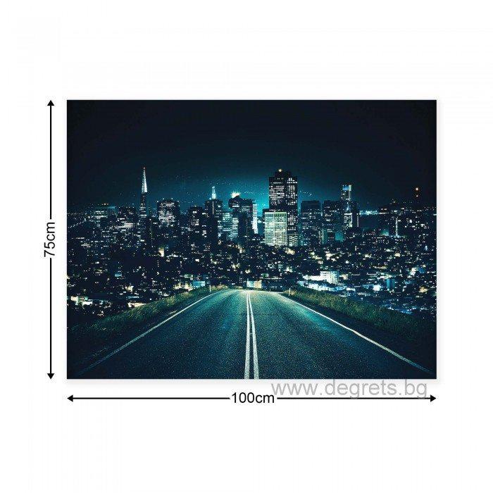 Картина Канава Нощно пътуване