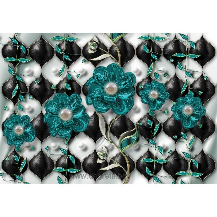 Фототапет Цветен диамант 2 3D XL