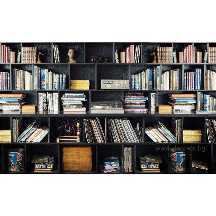 Фототапет Библиотека 2 3D XL