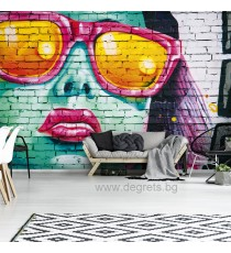 Фототапет Стена арт 3D