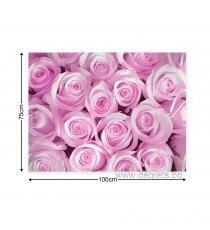Картина Канава Букет от розови рози