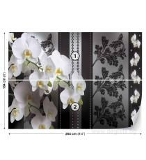 Фототапет Орхидея елегант 1 3D L