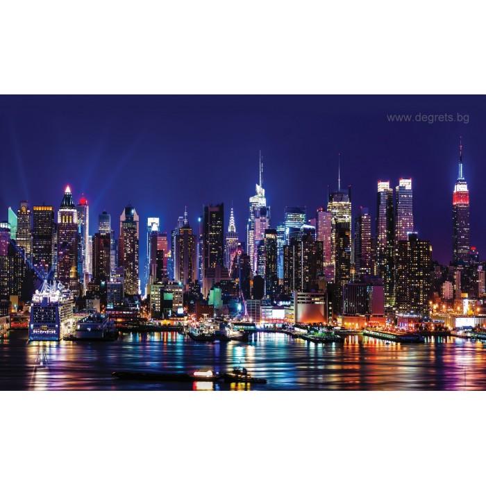Фототапет Мегаполис светлини