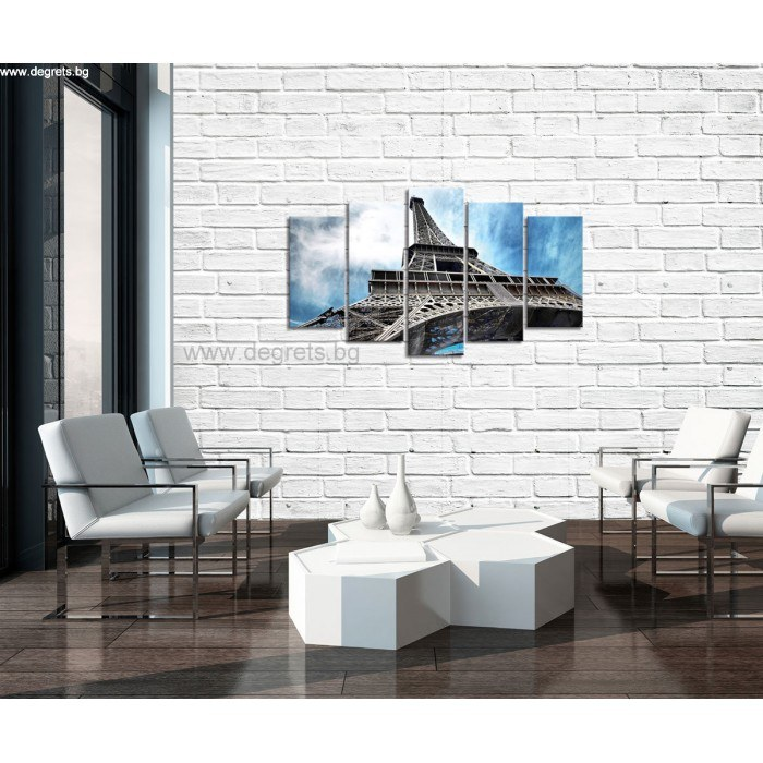 Картина Канава Айфелова кула 1 Сет 5 части