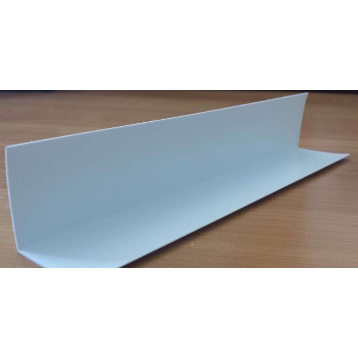 PVC профил 35*35 бял 3 метра