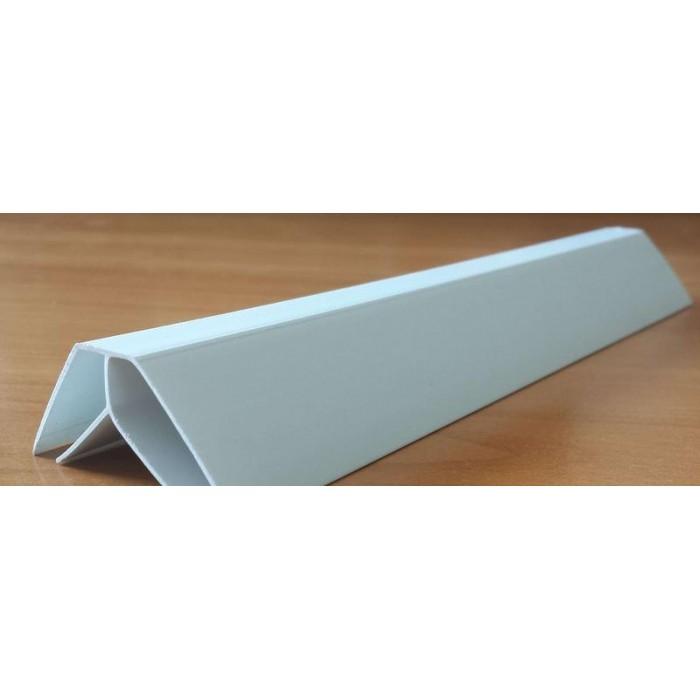 PVC профил вътрешен ъгъл бял 3 метра