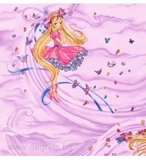 Тапет хартиен Магия розов