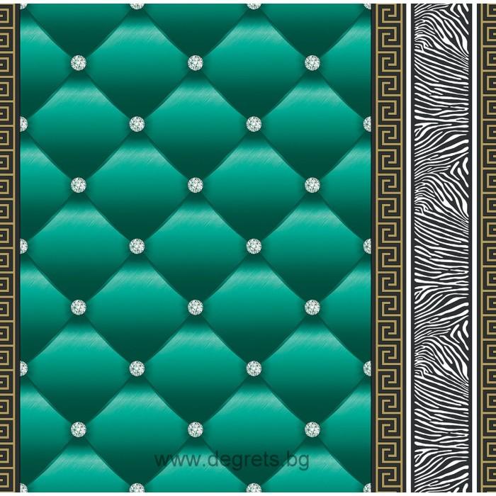 Тапет хартиен Айлин 3D 2 зелен