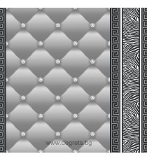 Тапет хартиен Айлин 3D 2 сив
