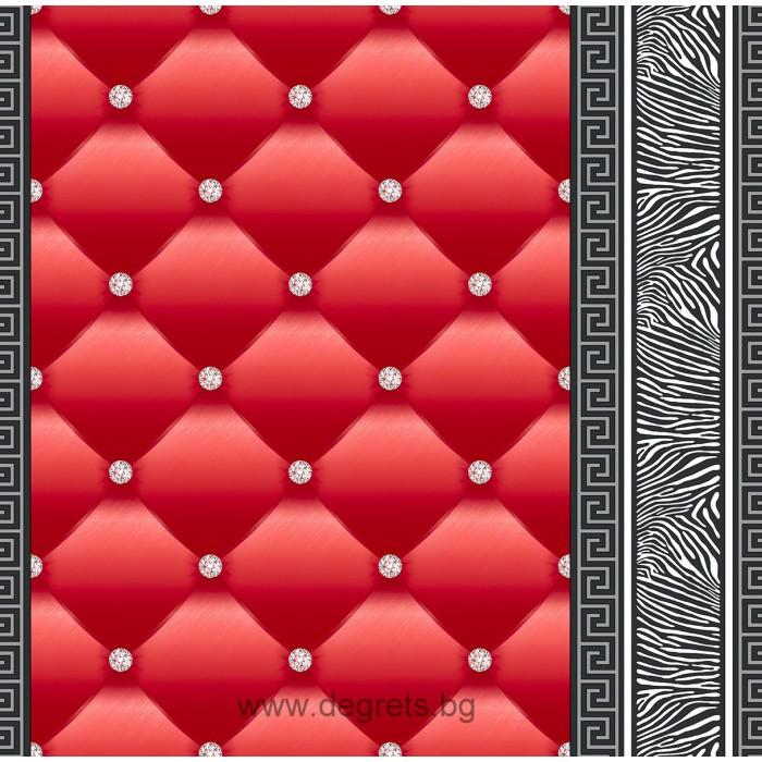 Тапет хартиен Айлин 3D 2 червен