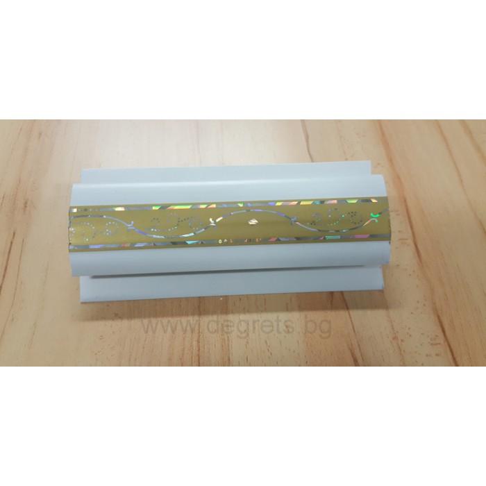 PVC профил съединителен Злато 3 метра