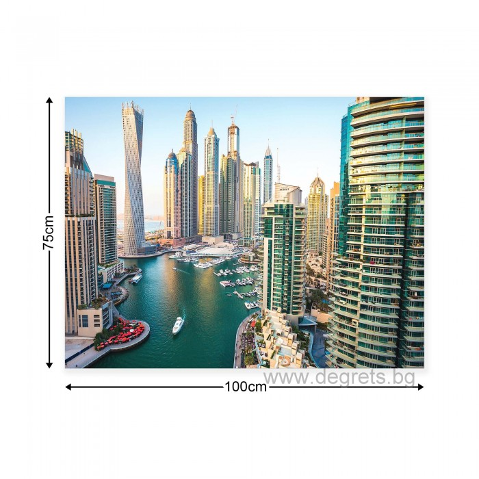 Картина Канава Дубай Марина