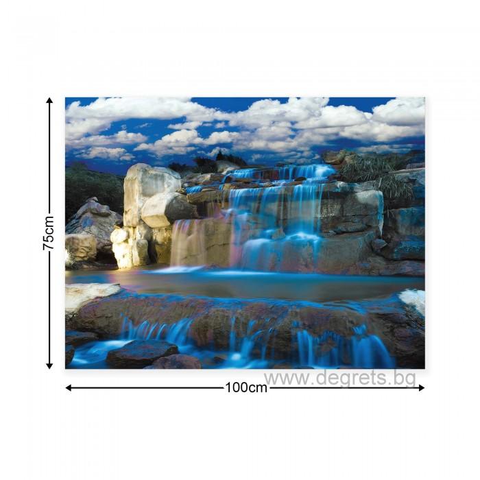 Картина Канава Водопад каскада