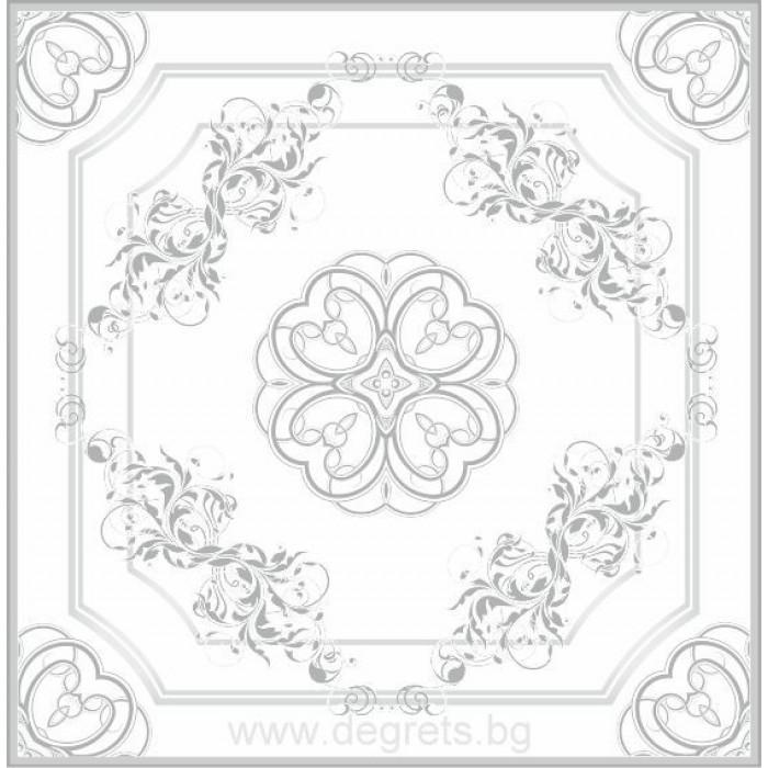 Таванска плоскост 50/50 номер 16-019 сребро