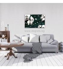 Картина Канава Абстракция Орхидеи 5 3D S