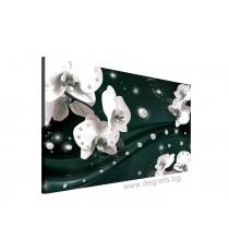 Картина Канава Абстракция Орхидеи 5 3D L