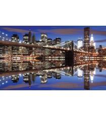 Фототапет Бруклински мост нощ L