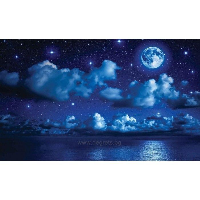 Фототапет Нощ над морето