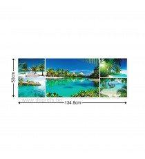 Картина Канава Екзотични плажове 3 Сет 5 части