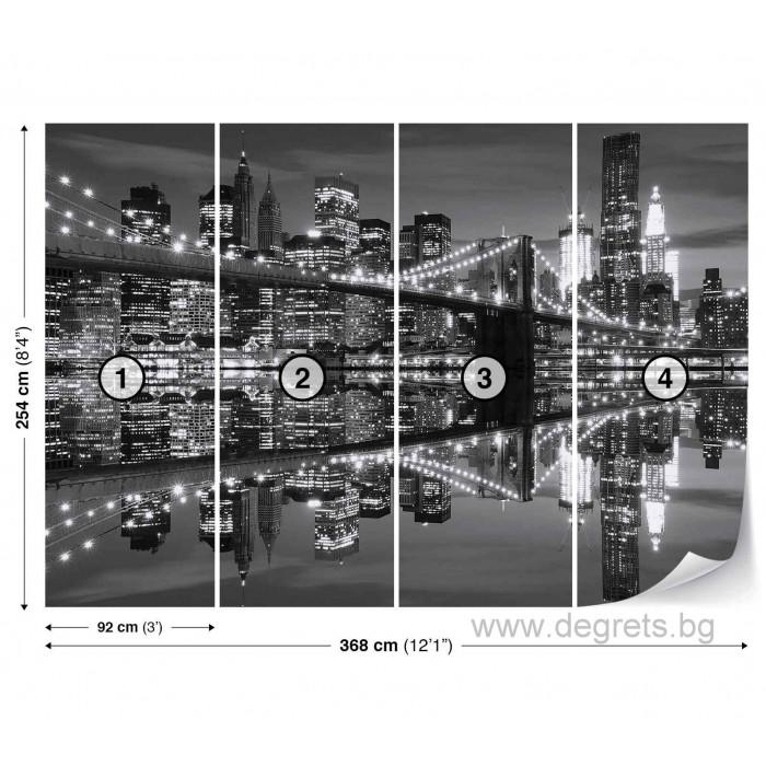 Фототапет Бруклински мост  2 XL