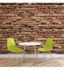Фототапет Стена Камък 3 3D XL