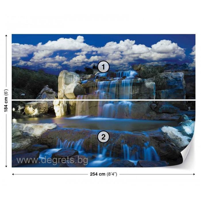 Фототапет Водопад - природа