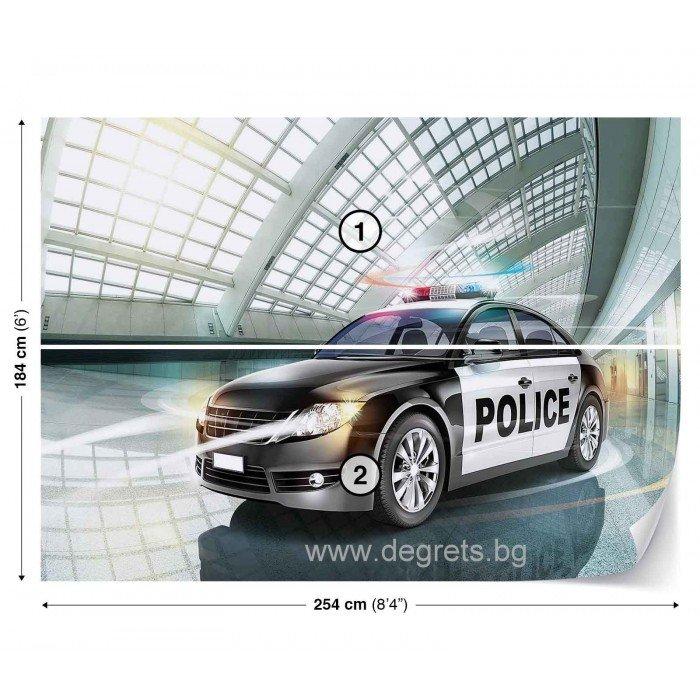 Фототапет Полиция
