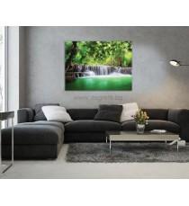 Картина Канава Водопад в Тайланд L