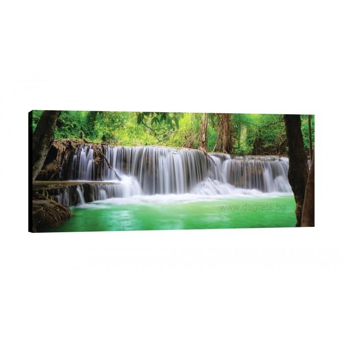 Картина Канава Водопад в Тайланд XL
