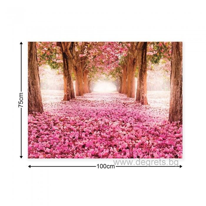 Картина Канава Розова пътека L
