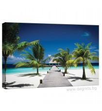 Картина Канава Плажен курорт S
