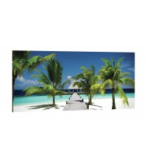 Картина Канава Плажен курорт XL