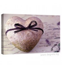 Картина Канава Сърце от камък