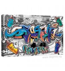 Картина Канава Графити S