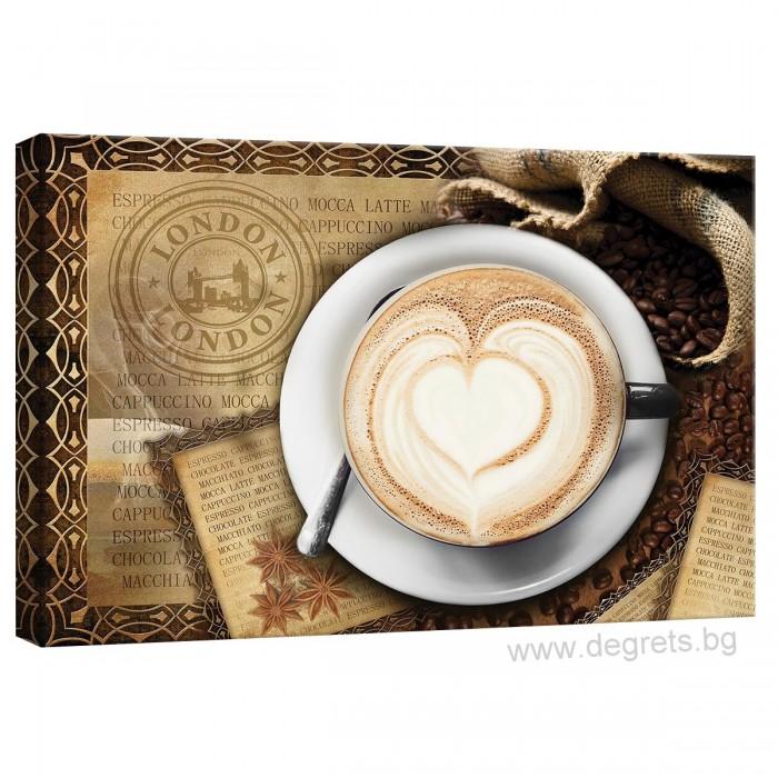 Картина Канава Кафе в Лондон