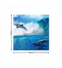 Картина Канава Делфини в морето