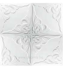 Таванска плоскост 50/50 номер 10-2041 бял