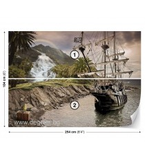 Фототапет Пиратски кораб